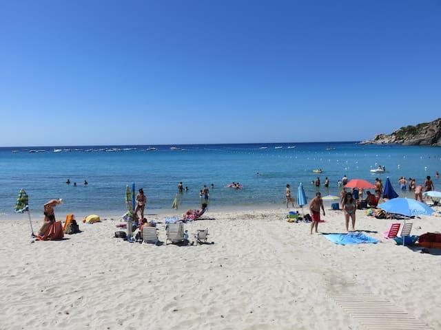 Cannesisa's beach