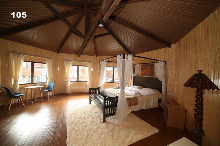 逅客】近红树林湿地 水上木屋豪华大床房