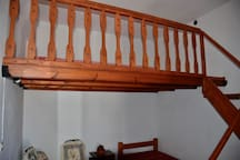 The Onda double bed in Despoina-bedroom.