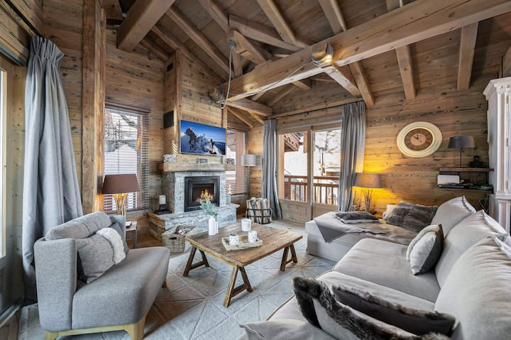 Like in a chalet
