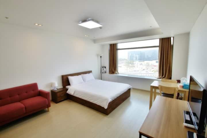 IncheonAirport House/단독원룸/Queen Bed2/