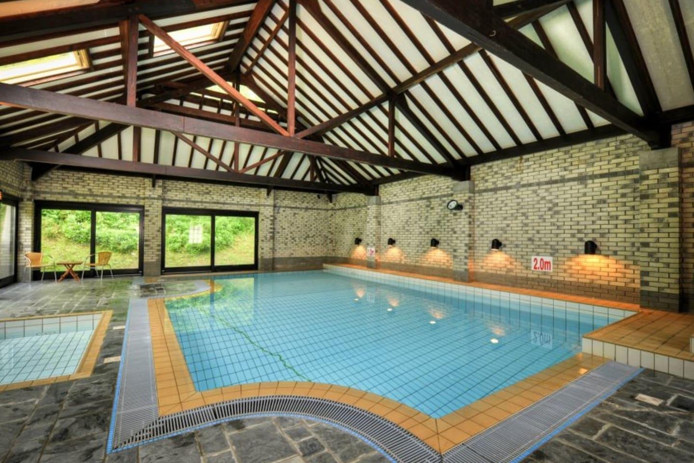 Make a splash in the indoor pool