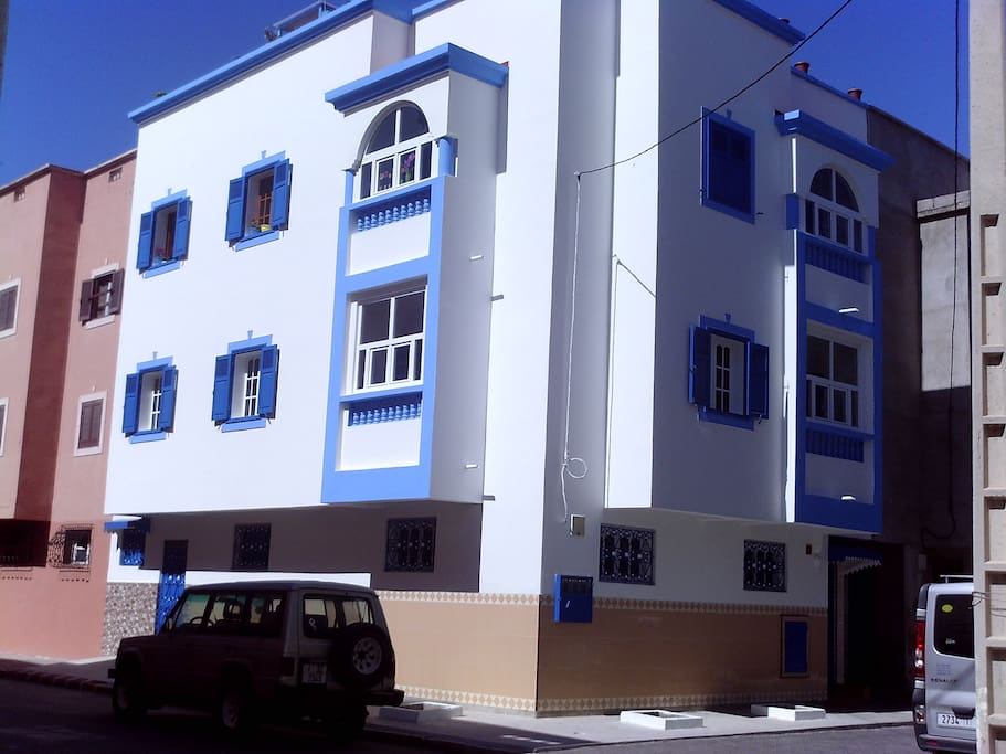 façade rénovée début 2016