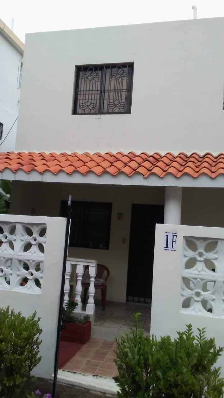 Una casa con vista al Mar Caribe