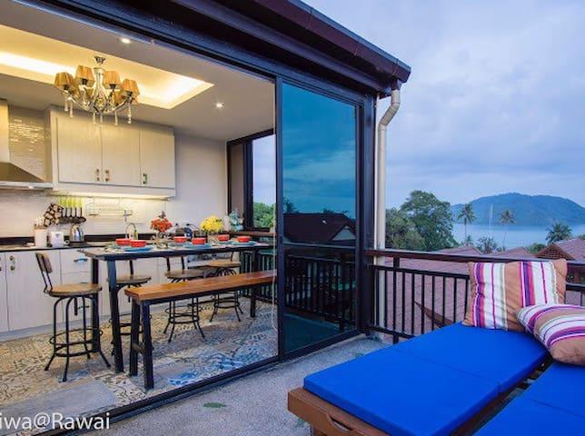 3BR Seaview Private Pool Duplex