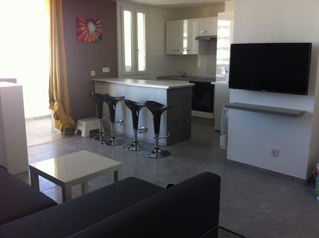Appartement T4 spacieux 71m², 2 chambres Grenoble - Grenoble - Appartement