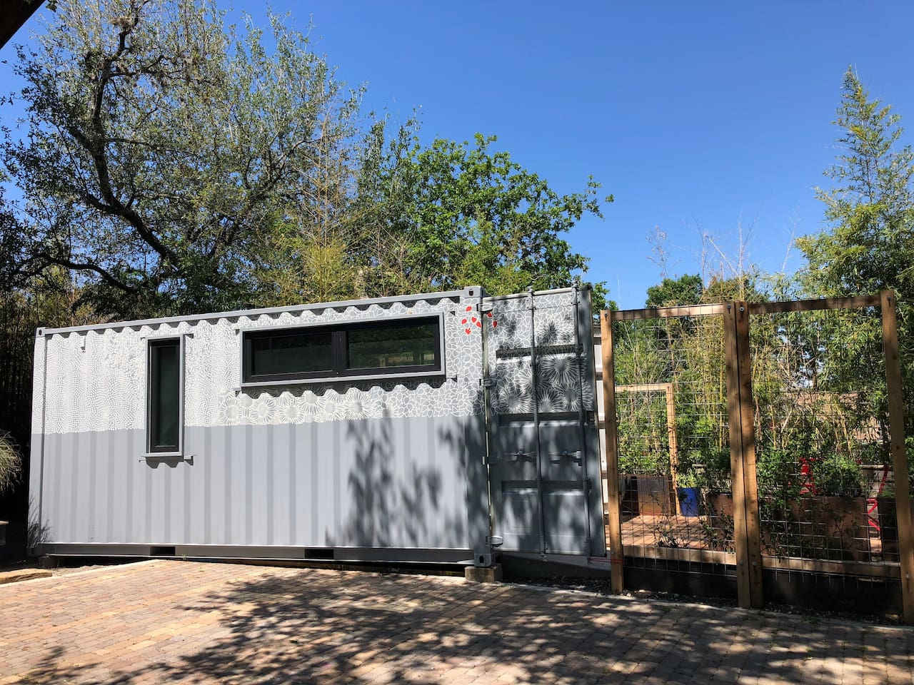 Beautiful custom built shipping container tiny home