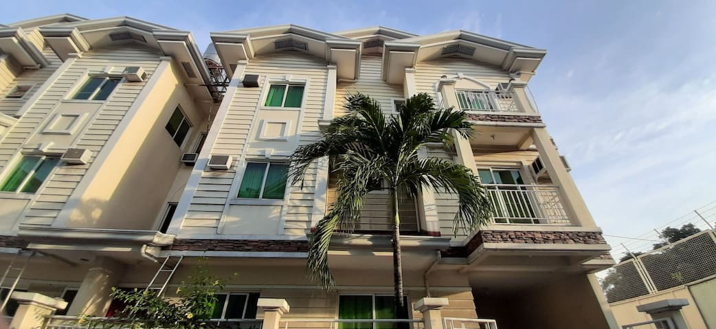 Townhouse within a private gated compound.