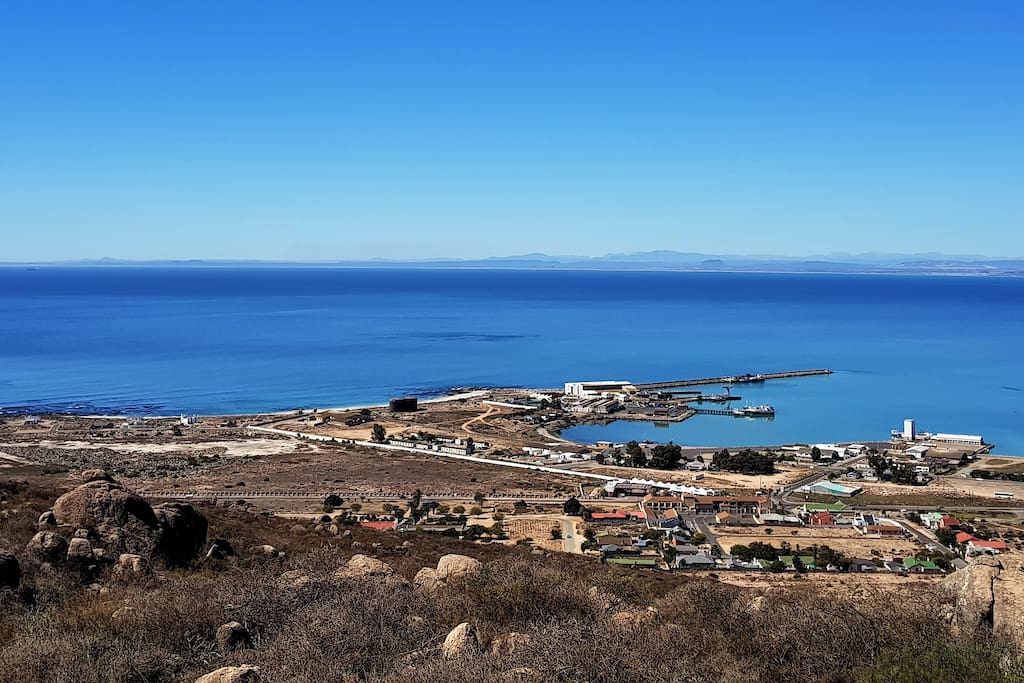 View of St Helena Bay Harbour from Kachina Studio