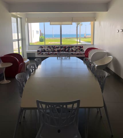 Ocean view apartment paracas 1st floor