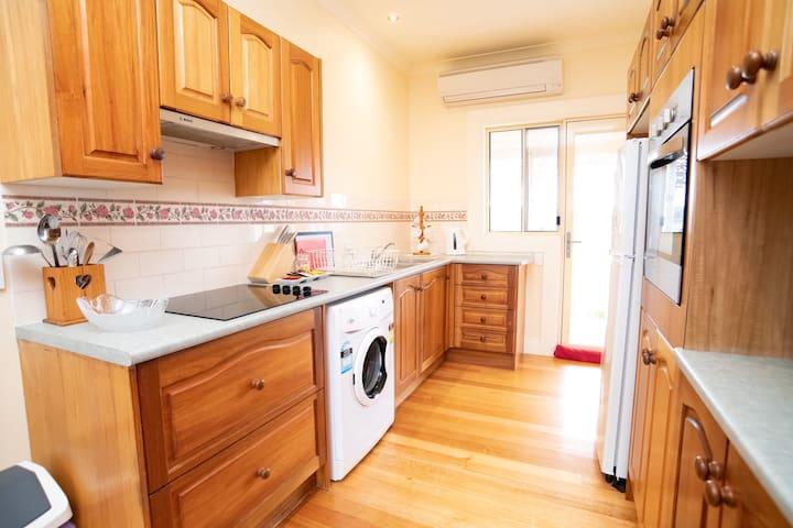 Kitchen - underbench washing machine