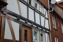 Feriendomizil im historischen Schwibbogenhaus