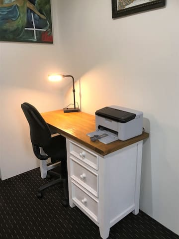 Office chair and printer