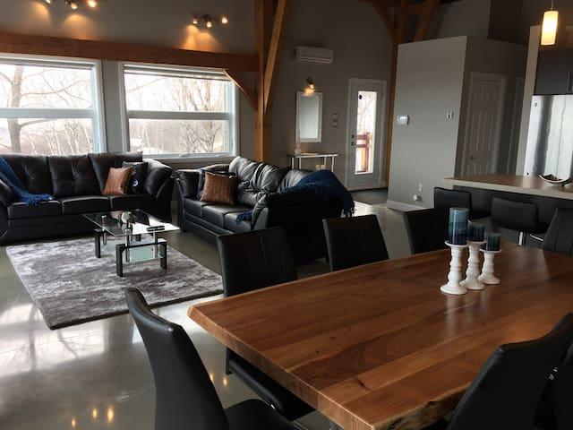 Condo meublé Mont Ste-Anne 296, vue panoramique - Beaupré - Apartament