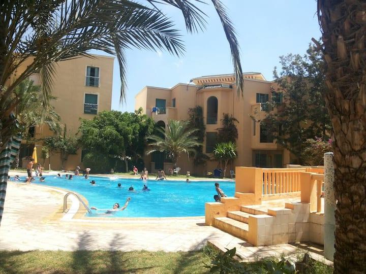 Coquet appartement à Hammamet Sud