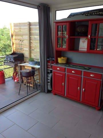 Appartement 70m² avec jardin et terrasse - Cambo-les-Bains - Apartment