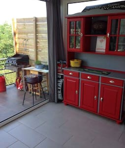 Appartement 70m² avec jardin et terrasse - Cambo-les-Bains