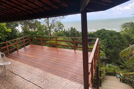 SHOW - Casa á beira mar c/ Piscina Praia Carapibus