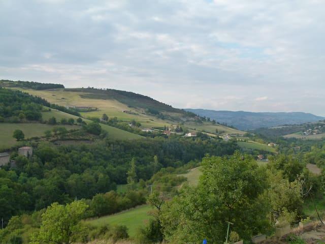 Gîte rural dans le parc du pilat - La Terrasse-sur-Dorlay