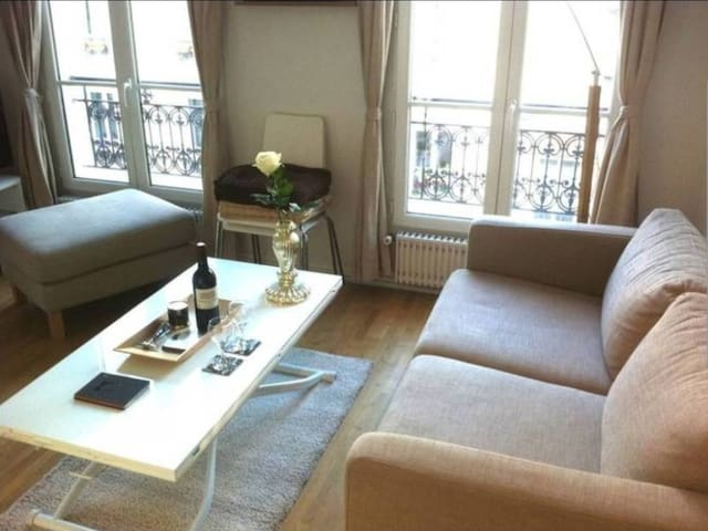Cosy appartment on MONTMARTRE