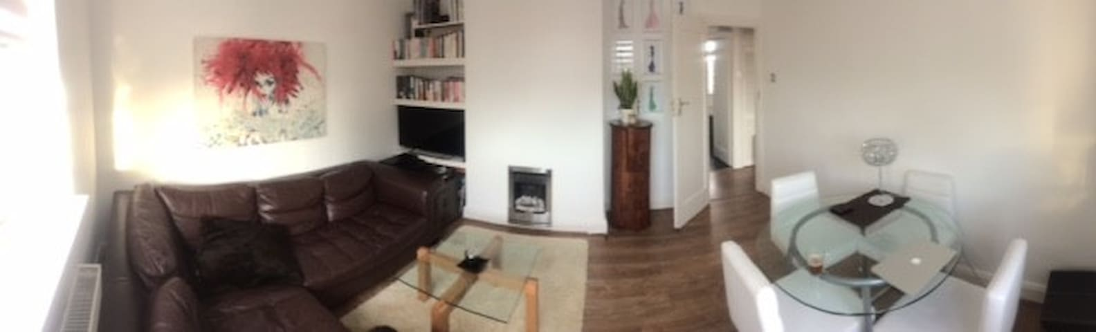 Spacious room in modern apartment - Twickenham - Pis