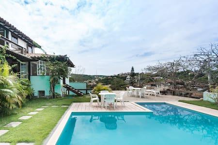 Loft com piscina em Geribá - Búzios