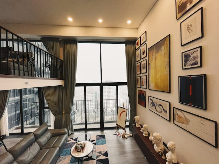 Art Design/ West Lake Duplex/ Panorama Hanoi View