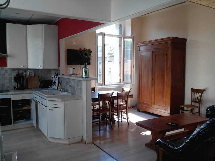 Appartement lumineux centre-ville Epernay.