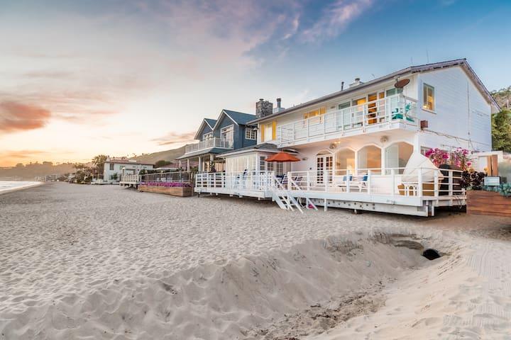 Malibu Beach House on Carbon Beach