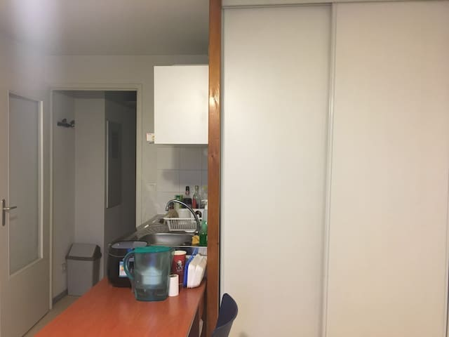 Beau studio lumineux au calme - Clermont-Ferrand - Daire