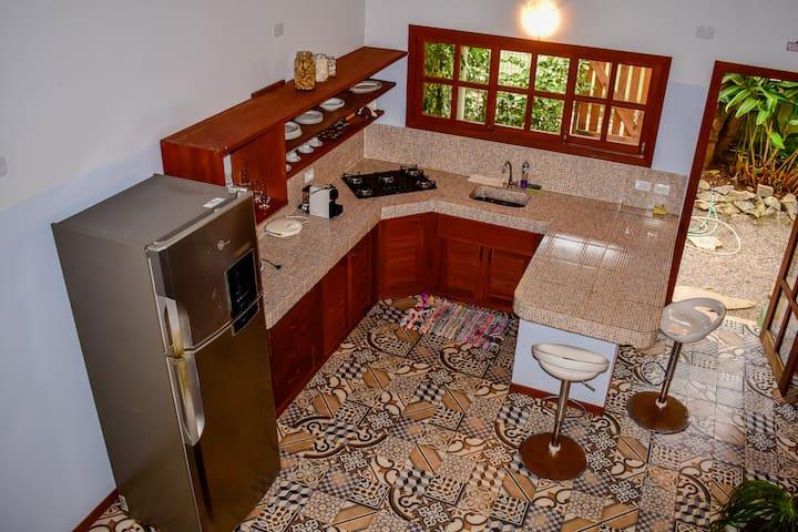 Casa aconchegante com total privacidade