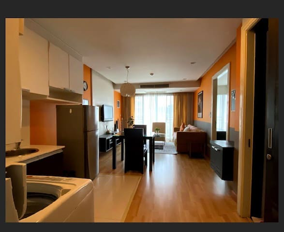 1 bedroom with 1 bedroom 60sqm space.