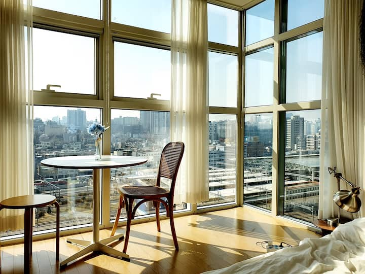 [SEOUL STATION] #natural interior#cityview