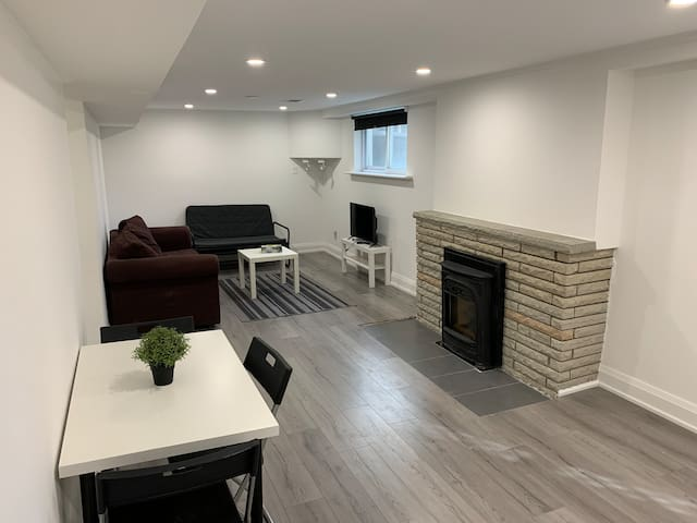 Newly renovated one bedroom walkout basement