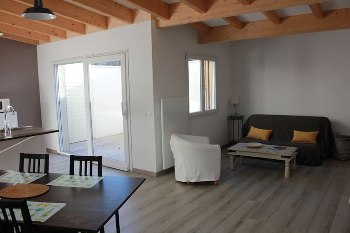 Flat/house with Patio - Reims - Apartamento