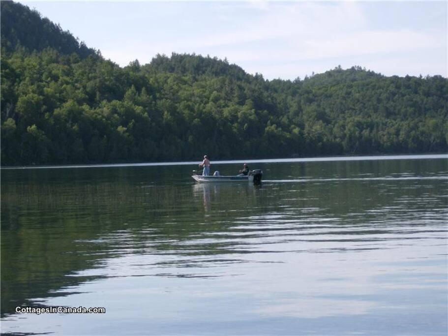 lac heney fishing