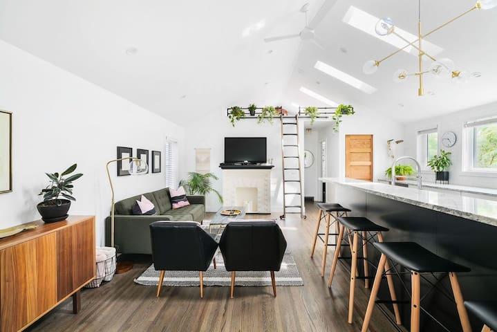 Sunny Mid Century Modern Main Floor