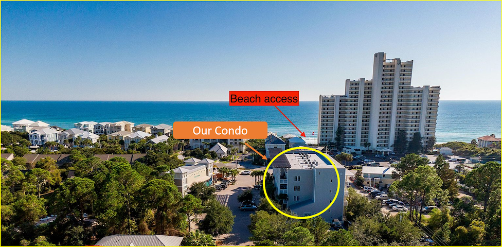30-A CONDO402  3Bed/2Bath  500 ft to beach