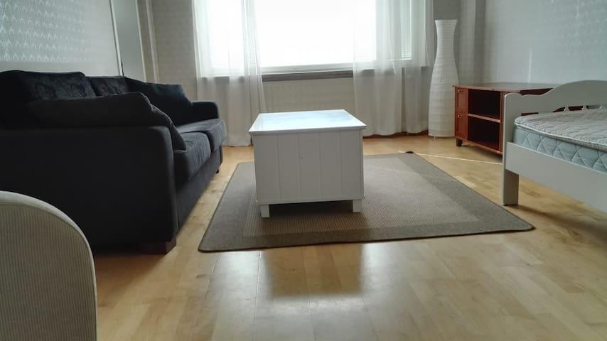 Nice 3-rm Rauma apartment for business or pleasure