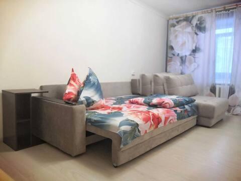 Современная, комфортная, квартира, 44 кв. м