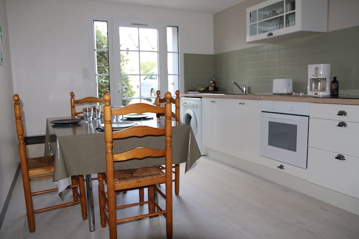 Appartement 4 pers RDC 800m plages - Arradon - Huoneisto