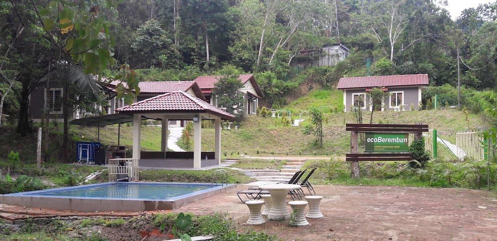 Eco Berembun Resort @ Negeri Sembilan Chalet No 1