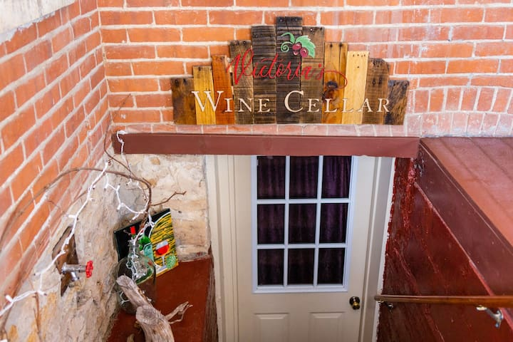 Victoria's Wine Cellar - Whispering Pines Bed & Breakfast