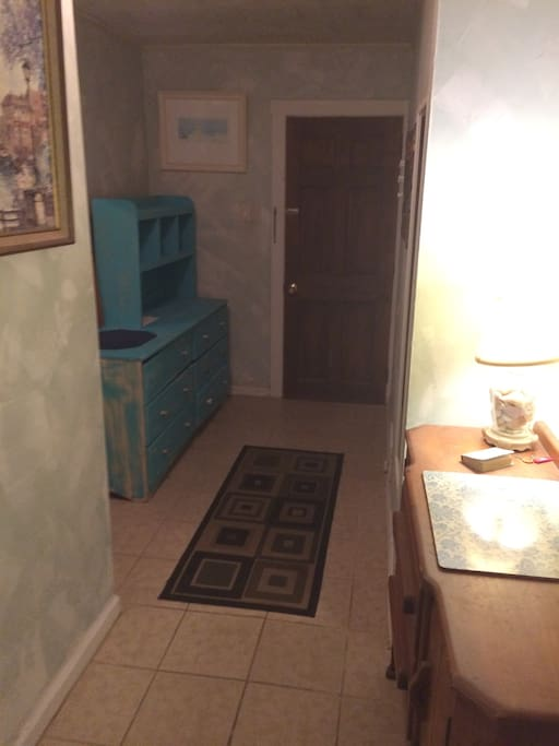 Foyer Entrance with Extra Dresser