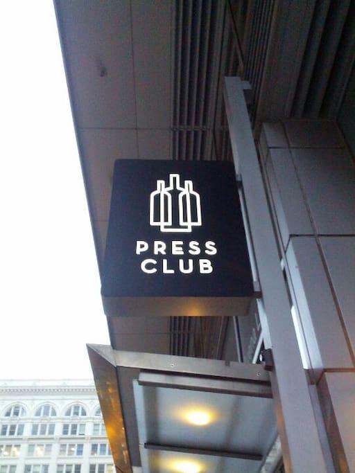 Photo of Press Club in SoMa
