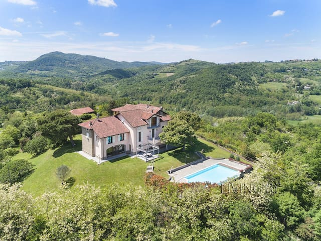 Villa I Turri, luxury in the vineyards