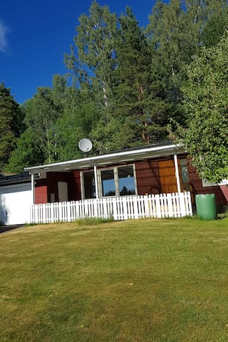 House in Värmland, close to the  lake and forest.