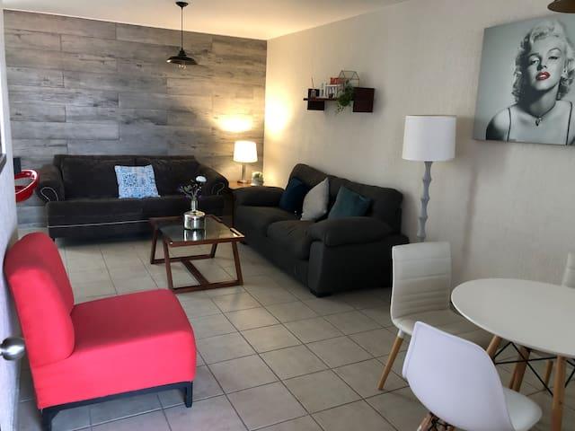 Full Apartment Downtown/Céntrico (WiFi) 2 Recámara