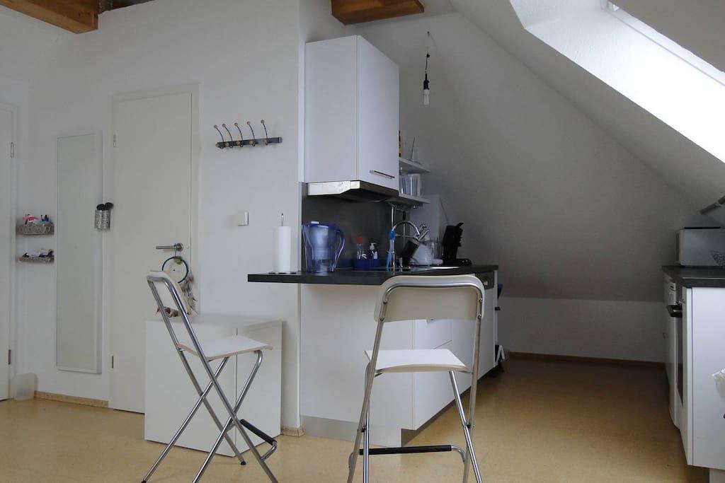 3. Vollausgestattete Küche