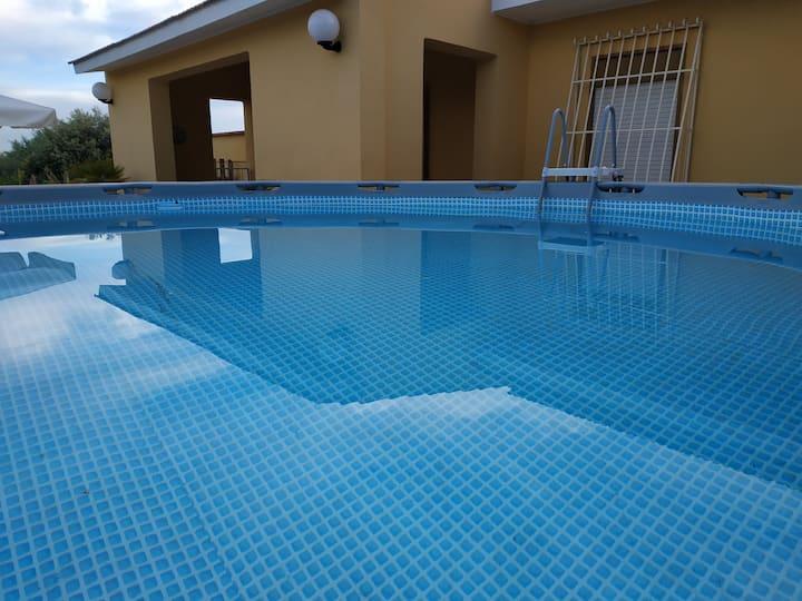 Siracusa Villa FORTUNA con piscina ris. Plemmirio